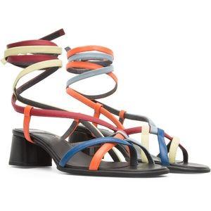 CAMPER Twins Multicolor Sandals for Women